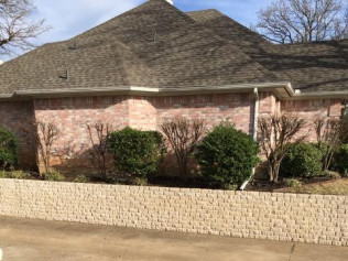 retaining wall installation grand prairie tx