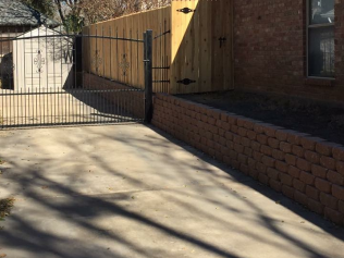retaining wall installation arlington tx